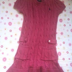Ralph Lauren sweater dress size 2T